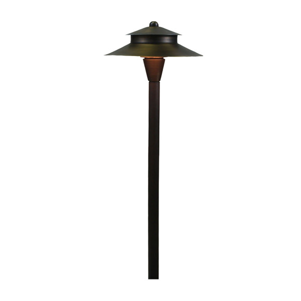 B319 brass landscape lighting